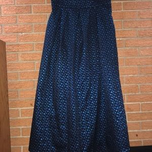 💙C&M COLLECTION💙OCCASION MAXI POLKA DOT SKIRT💙
